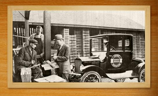 Cedar Shake & Shingle Bureau historic photo from Kenmore, WA