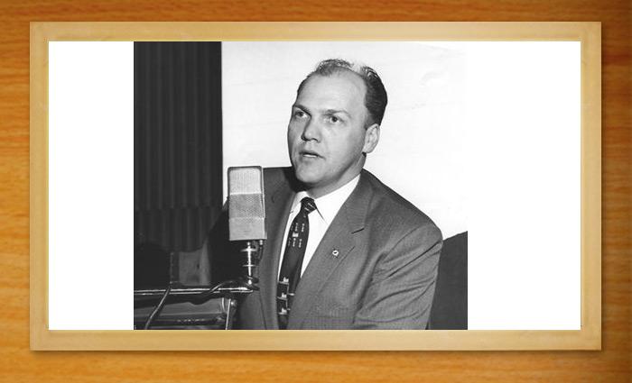 Virgil Peterson - Legendary Cedar Bureau Manager.
