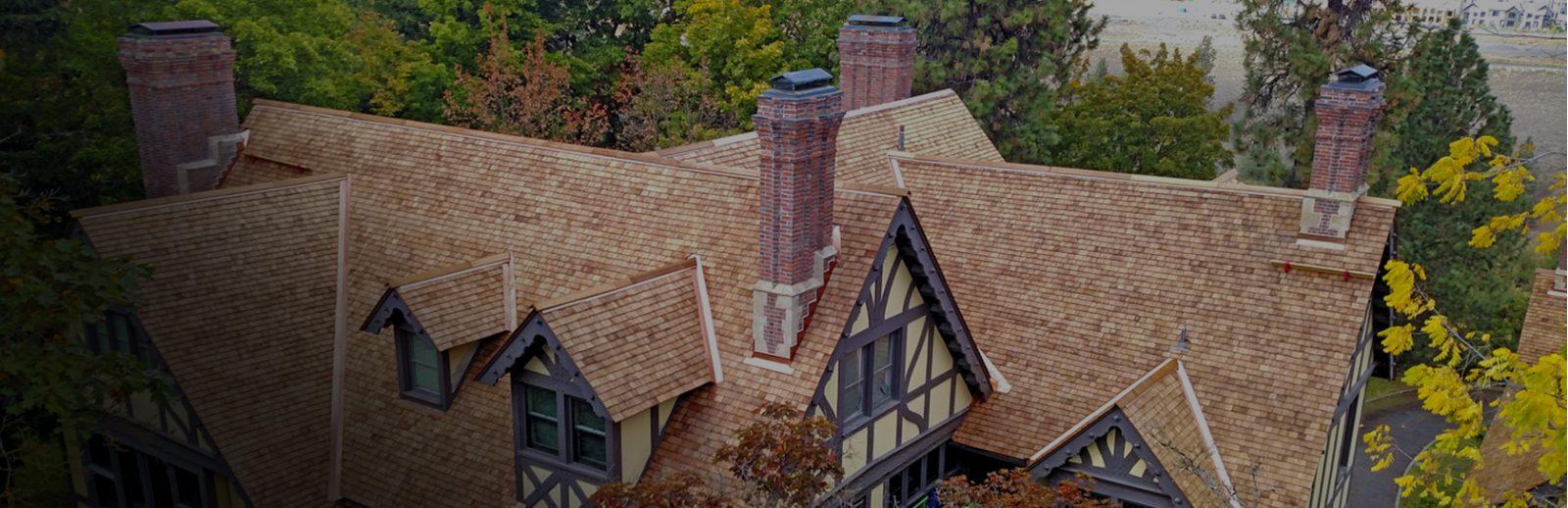 cedar roof on a house