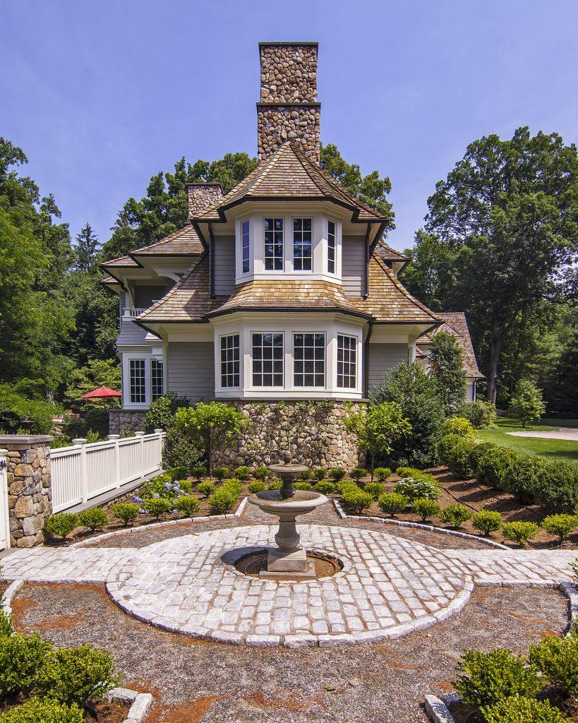 cedar built home