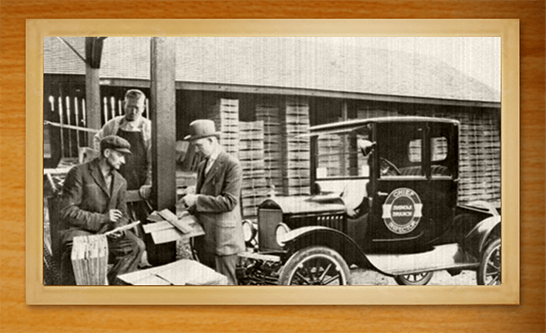 Cedar Shake & Shingle Bureau historic photo from Kenmore, WA