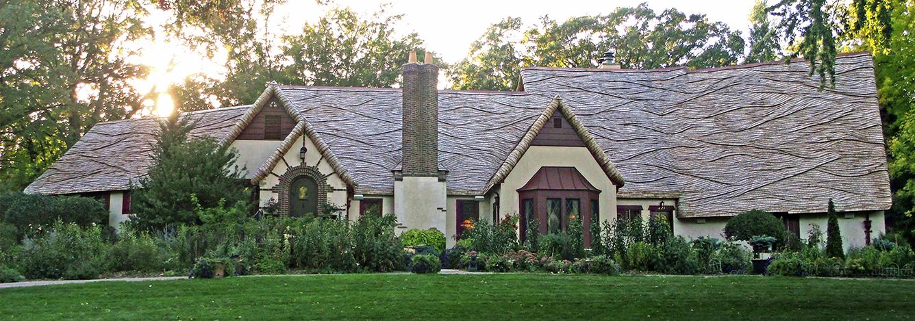 western red cedar roof